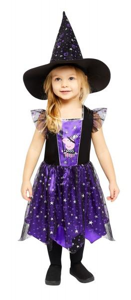 Costume da strega Peppa Pig per bambina