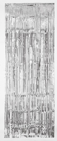 Rideau de porte argent 2,4mx 91,4cm