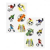 1 Kicker Bande abwaschbare Fussball Tattoos