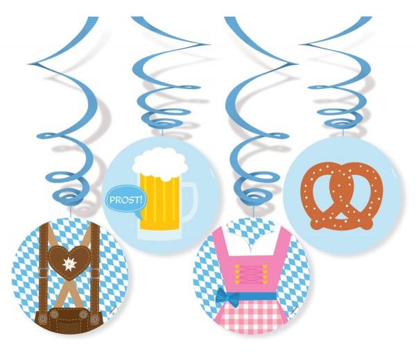 4 spirali Oktoberfest 4 simboli