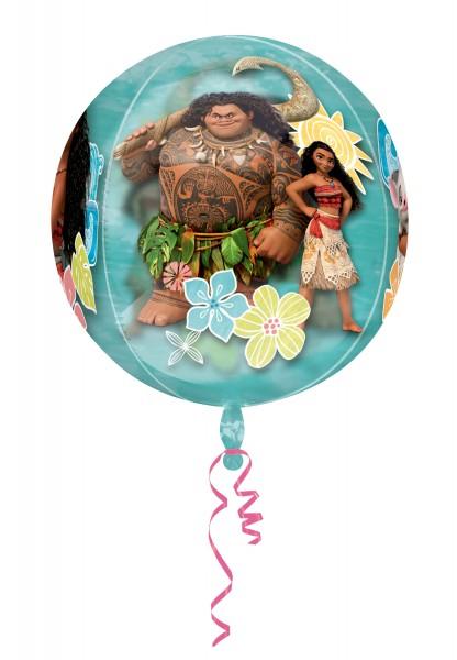 Kugelballon Vaiana & Freunde transparent