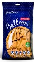 10 Partystar Luftballons gelb 27cm