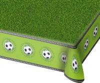Fußballplatz Tischdecke mit Motivrand 1,3 x 1,8m