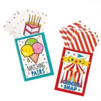 Mini-Spielkarten Set 6-teilig