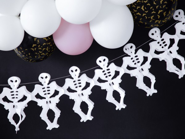 Ghirlanda scheletro Boo Town 3m