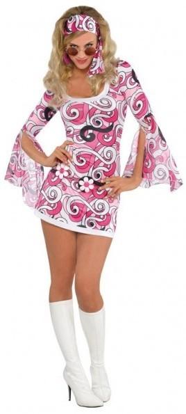 Pinkes Dancing Queen Kostüm 1