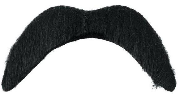 Moustache noire Herbert