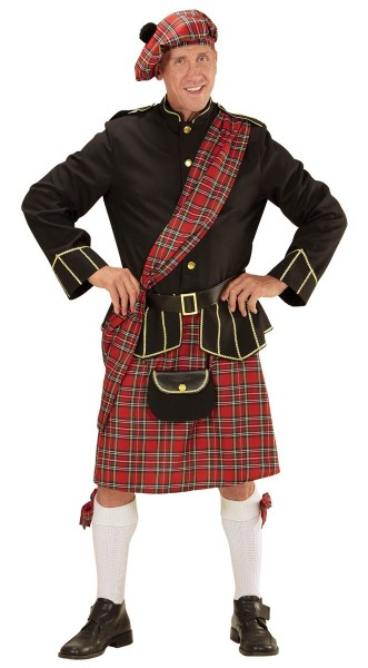 Old McKinsley tartan costume
