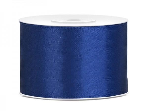 25m Satin Geschenkband marineblau 5cm breit