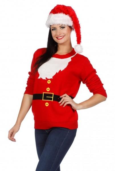 Christmas Santa Pullover