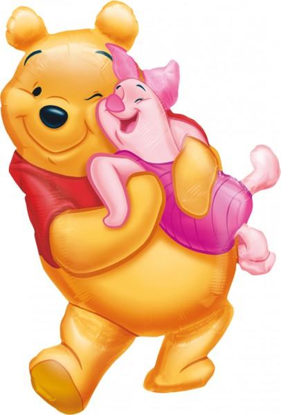 Winnie Pooh & Ferkel Folienballon