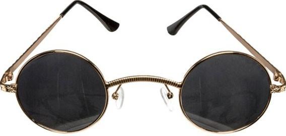 Gafas Steampunk hippie con gafas oscuras