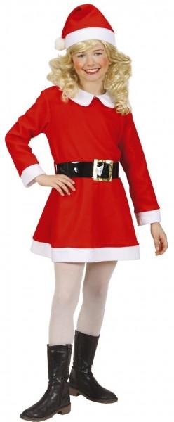 Weihnachtsmädchen Kostüm