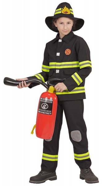 Feuerwehrfrau Steffi Kinderkostüm