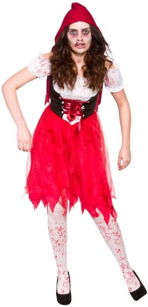 Zombie Rotkäppchen Damenkostüm
