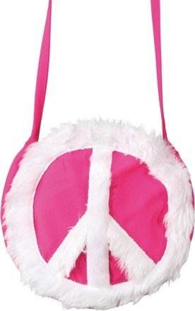Umhängetasche Peace Pink