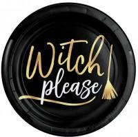4 Witch Please Teller aus Kunststoff 19cm