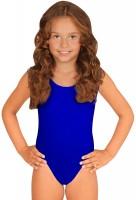 Klassieke kinderbody blauw