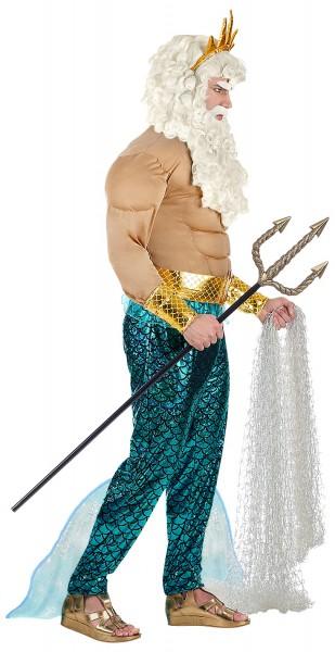 Poseidon Sea God Men-kostuum