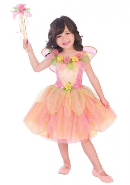 Flower fairy Marilli costume for girls