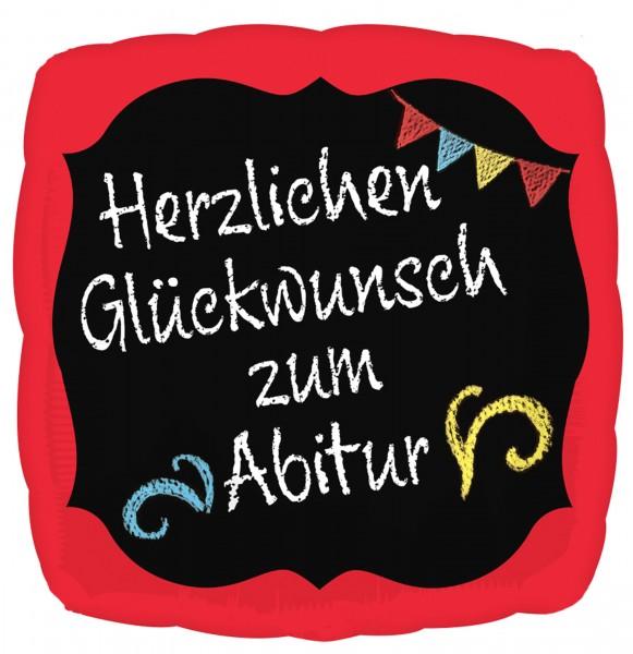 Abitur Glückwünsche Folienballon 43cm