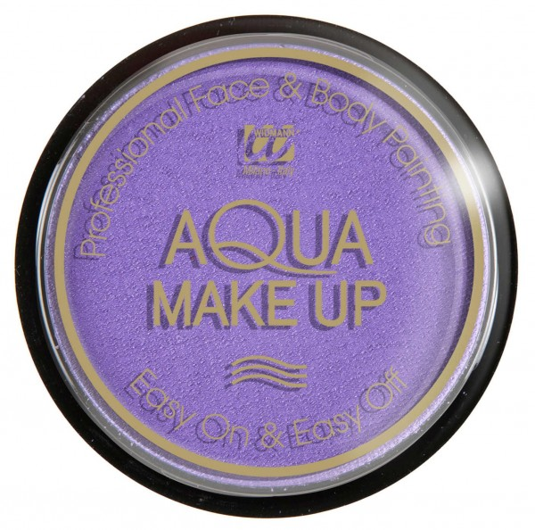Gesicht Und Körper Aqua Make Up Lila