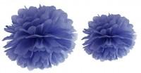 Pompon Romy dunkelblau 35cm