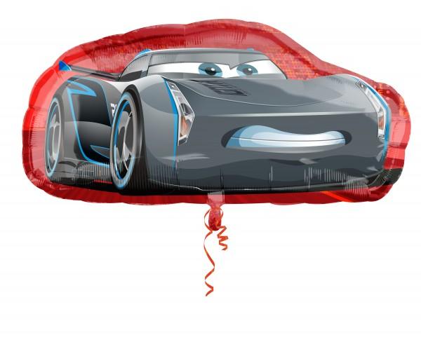 Folienballon Cars Cruz & Jackson Storm Figur