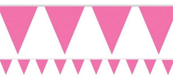 Gagliardetto in carta Garden Party rosa 450cm