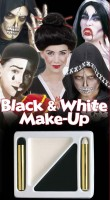 Make-Up-Kit Black & White Halloween