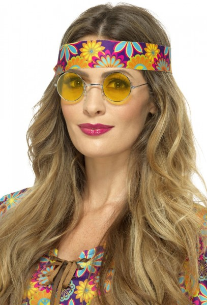 Funky Lazy Hippy Glasses Giallo