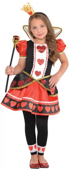 Zauberhaftes Herzkönigin Kostüm