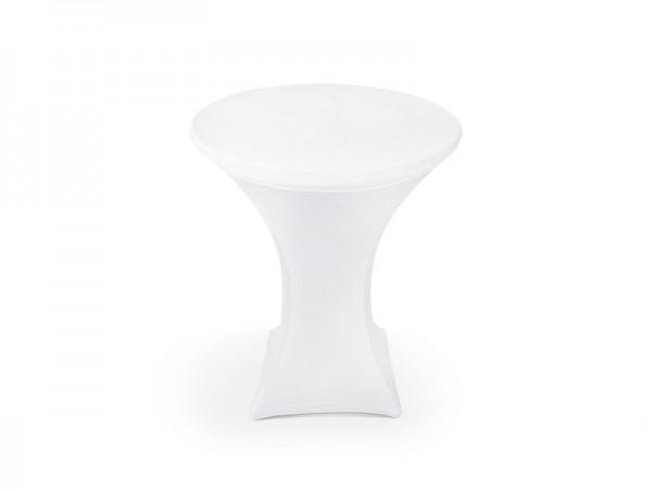 Elastische Tischhusse Weiß 1