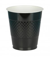 10 Party Buffet Becher schwarz 355ml