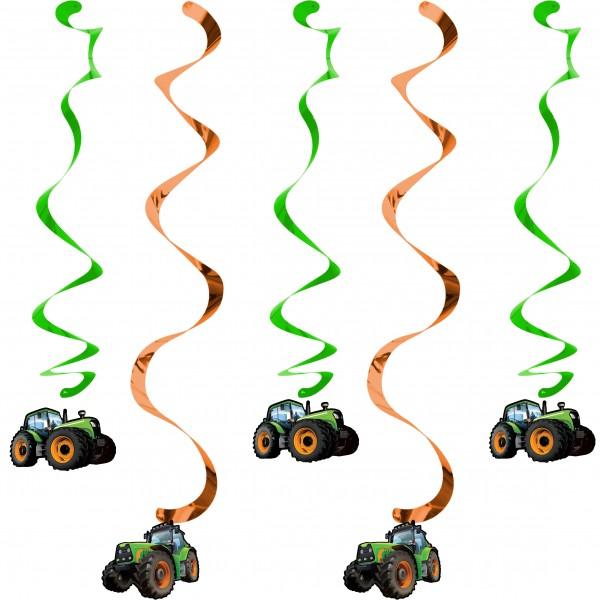 5 Traktor Party Hänger