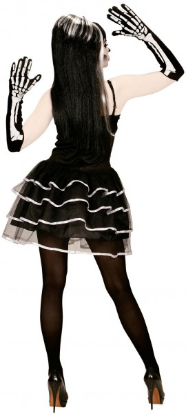 Skelett-Lady Hanna Kostüm