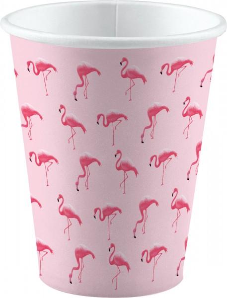 8 tasses Flamingo Paradise 250 ml
