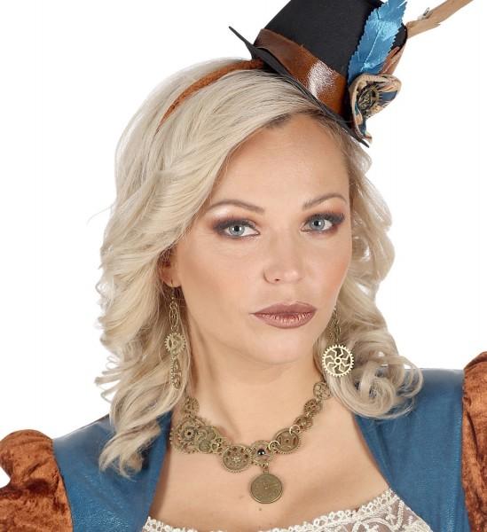 LAdy Steampunk Halskette