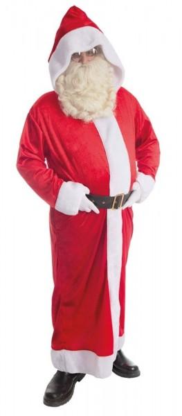 Red Santa Claus Mantel Kostüm