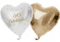 Vorschau: Lets Celebrate Heliumflasche mit Ballons