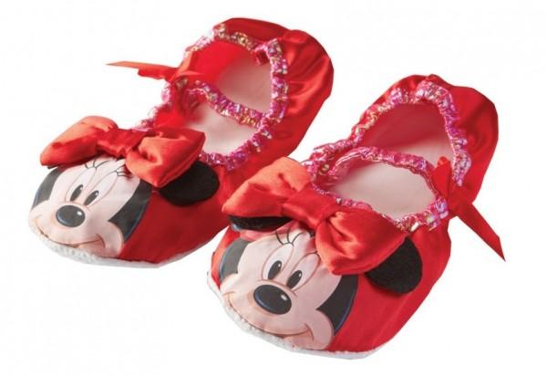 Rote Minnie Mouse Balettschuhe für Kinder