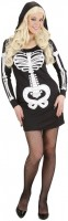 Skelett Tote Lady Kostüm Damen Mit Kapuze