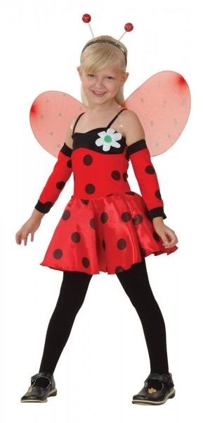 Marienkäfer Valeria Kostüm Für Mädchen