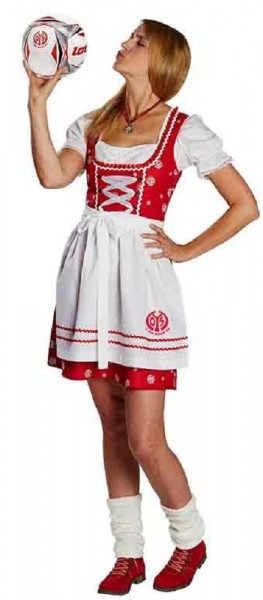 1. FSV Mainz 05 Dirndl Kostüm