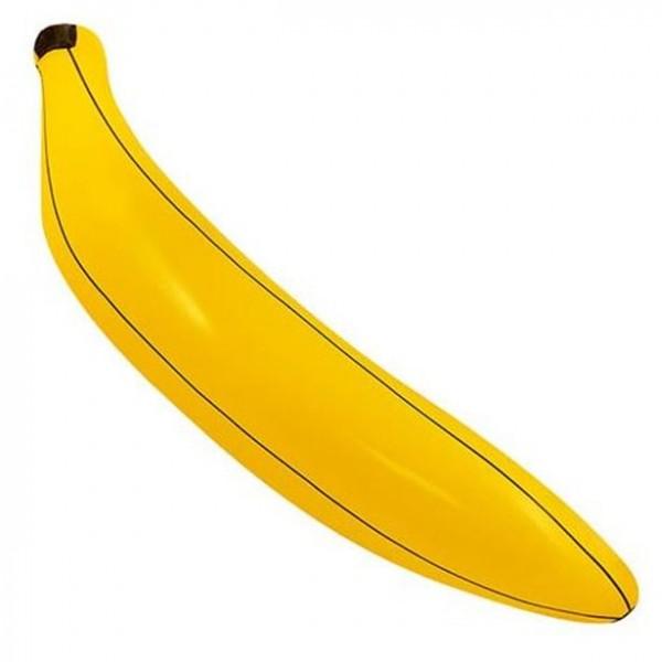 Tropische Banane zum Aufblasen 80cm