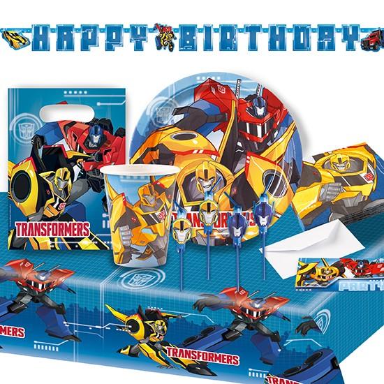 Transformers Partypaket 62-tlg