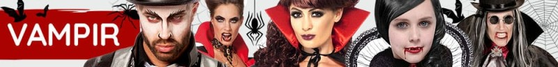 Vampir Kostüme & Zubehör