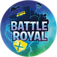 8 Battle Royal Birthday Teller 23cm