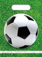 6 Fußball König Geschenktüten