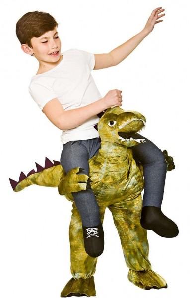 Huckepack Auf Dino Kinderkostüm